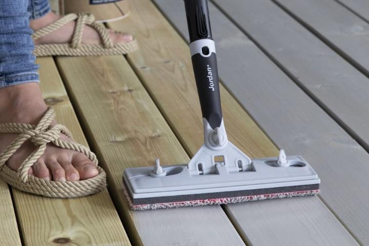 EasyPad som beiser terrasse